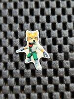 Vintage Nintendo STARFOX Gamescom 2011 Pin Badge lapel Rare Promo Lapel NES 3DS