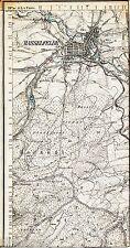 Hasselfelde Tännichen Rabenstein 1910 Teilkarte/Ln TK25 Selketalbahn Neuer Teich