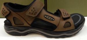 Keen Rialto 3 Point Dark Earth/Black Comfort Sandal Men's sizes 7-13/NEW!!!