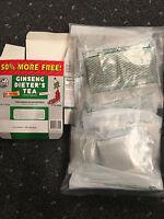 Export Pack Bulk - 240  TEA BAGS- KINGS  GINSENG DIETERS TEA
