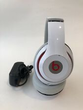 Beats by Dr. Dre Studio 2 Wireless Headband Headphones - White - Works Great