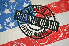 Vintage Bonnie Blair Champaign IL Team USA Olympic Speed Skater Skating Shirt XL
