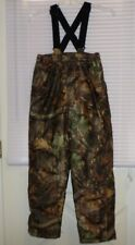 Cabela's Silent Suede Dry Plus Pants Camo INSULATED YOUTH Large NWOT