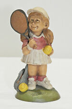 Vintage Tom Clark - Courtney Playing Tennis - #8079 - Cairn Studio - Sievers