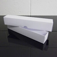 A4 White Wedding Scroll Boxes, Candle or Gift Box, Invitations, Choose Quantity