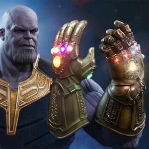 New Avengers 3 Infinity War Infinity Gauntlet LED Cosplay Thanos Gloves With LED