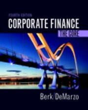 Berk, Demarzo and Harford, the Corporate Finance: Corporate Finance : The...