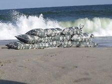 12 US Army ACU Digital Camo Sandbags Sand Bags Flood Erosion Barrier Paintball