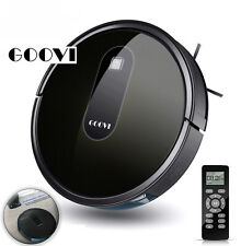 Goovi D380 1600Pa robot vacuum cleaner self charging Floor Auto Cleaning Sweeper