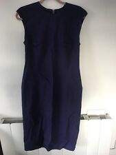 Ladies Purple Bodycon Dress Size 12 Ideal Office Wear