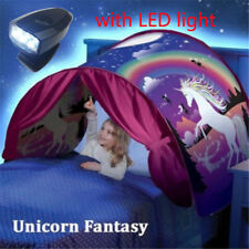 Folding Fantsy Magical Unicorn Dream Tents As Seen on TV  Play Bed Tent+Light
