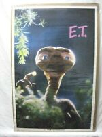 E.T. EXTRATERRESTRIAL MOVIE CHARACTER VINTAGE POSTER GARAGE 1982 CNG882