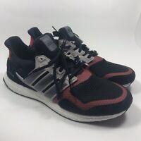 Men's adidas UltraBOOST S&L Running Shoes SZ 13 Core Black/Grey Power Red EF0724