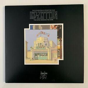 Led Zeppelin: Song Remains the Same 2LP - 200g Vinyl - 2002 US RM Reissue - EX