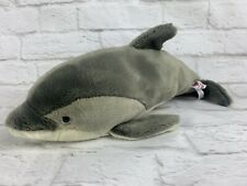 "Ganz Bottle-Nose Dolphin Plush 15"" Stuffed Animal Toy"