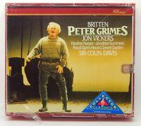 Benjamin Britten: Peter Grimes / Colin Davis ~ NEW 2-CD Set (Jul-1991, Philips)