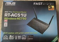 ASUS RT-AC51U Wireless Cable Router 5 Ethernet & 1 USB ports AC technology Black