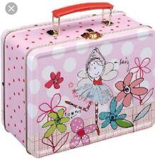 Ladies Girls FAIRY PRINCESS Lunch Box Bag School Picnic Tin Office Work Nursery