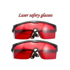 2PC glasses goggles Laser Safety 190nm-540nm(green/purple/blue) For Laser Pen US