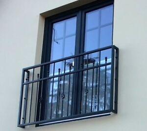Modell 170  FRANZÖSISCHER BALKON GITTER FENSTERGITTER Fenstergeländer
