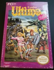 Ultima Exodus Nintendo NES in original Shrinkwrap Near Mint CIB with INSERTS