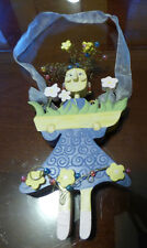 Adorable Wooden Hanging Fairy 10""