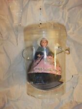 """Philippe French Lady 3 1/2"""" Hard Plastic, Strung and Costumed"""