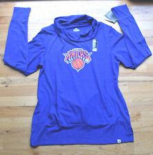 NWT Women's NEW YORK KNICKS wide neck long sleeve pullover jersey (XXL)Majestic