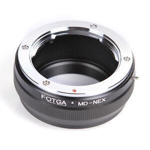 FOTGA Minolta MC/MD Mount Lens to Sony E-mount Adapter For Sony E NEX-7 NEX-5