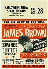 MAGNET REPRODUCTION of CONCERT HANDBILL James Brown 1966 Harrisburg PA