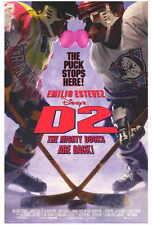 D2 THE MIGHTY DUCKS Movie POSTER 27x40 Emilio Estevez Michael Tucker Jan Rubes