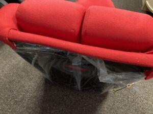 Red BB5 Slim Racing Fibreglass Sports Bucket Seat SECOND x1