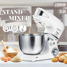 Sokany 1000W 5L Electric Food Stand Mixer Dough Hook Whip Beater Whisk