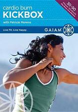 CARDIO BURN KICKBOX (Patricia Moreno) - DVD - Region Free - Sealed