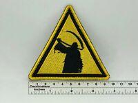 "Children Of Bodom triangle Death patch 9,5cm x 9cm / 3,7"" x 3,6"""