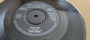 """David Bowie, Be My Wife, Speed Of Life, 1983, RCA, BOW 511, PB 1017, Vinyl, 7"""""""