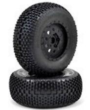 NEW Losi XXX-SCT XXX-SCB Premount Eclipse Tire/Wheel Front (2) LOS43004