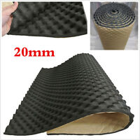 Profess 20mm Car Bonnet Sound Proofing Hood Insulation Deadener Mat Foam Shield