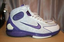 NIKE Air Zoom Huarache 2K4 Laser Kobe #8 KB Lakers Men's US Size 10.5 309957-151