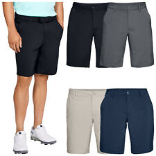 2020 Under Armour Mens Tech Shorts UA Golf Chino Flat Front Soft Stretch Fit