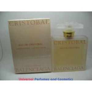 Cristobal Eau de Cristobal Balenciaga EDT 100ML New in Factory Box Rare