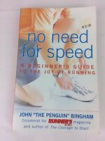 No need for speed, book