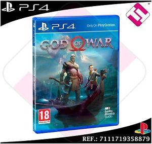 God Of War Set PS4 Fitness New Sealed PLAYSTATION 4 God War Hits
