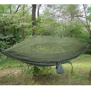 Snugpak Jungle Hammock with Mosquito Net Green Military Bushcraft Camping BIV117