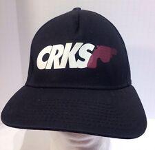 Crooks & Castles CRKS Can't Resist Killing Black Snapback Hat Cap
