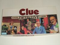 VINTAGE 1986 CLUE BOARD GAME 100% COMPLETE NM & RARE *WADDINGTONS