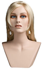 Mannequin Head Female Wig Display Heads from VaudevilleMannequins.com Jill
