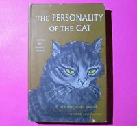 The Personality of the Cat edited by Brandt Aymar 1958 1st Edition 1st Print DJ