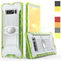 For Samsung Galaxy Note 8 Slim Hybrid Transprent Case Shockproof Bumper Cover