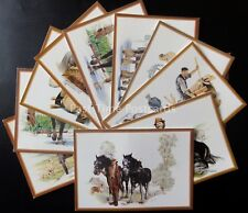 OLD ENGLISH COUNTRY CRAFTS Collection of 12 - Old Postcards - ALL SHOWN